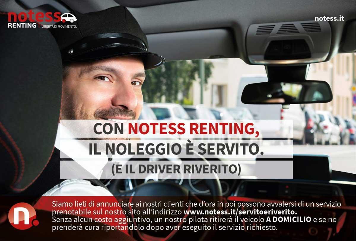 Servito, un servizio per i clienti di Notess Renting nella provincia di Milano