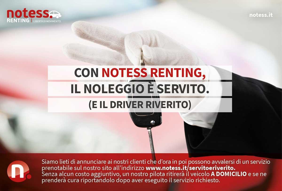 Con Notess Service il Noleggio è servito